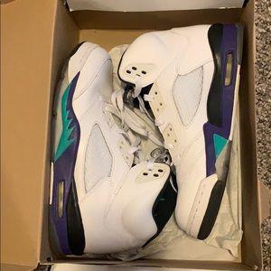 Jordan Retro Grape 5s